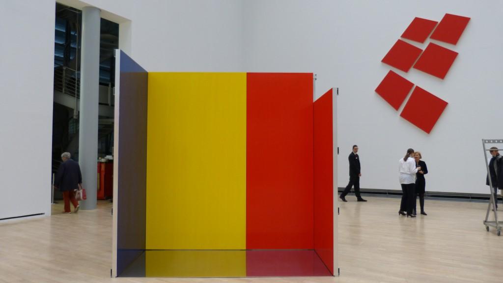 Imi Knoebel, Werke 1966-2014, Kunstmuseum Wolfsburg. Foto: Urszula Usakowska-Wolff
