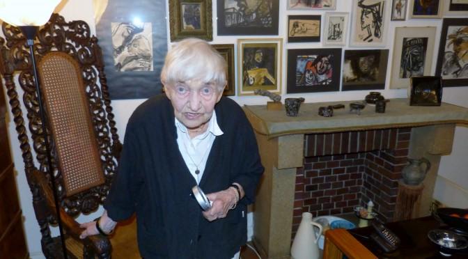 Gerda Schimpf (14.03.1913  –  28.12.2014)