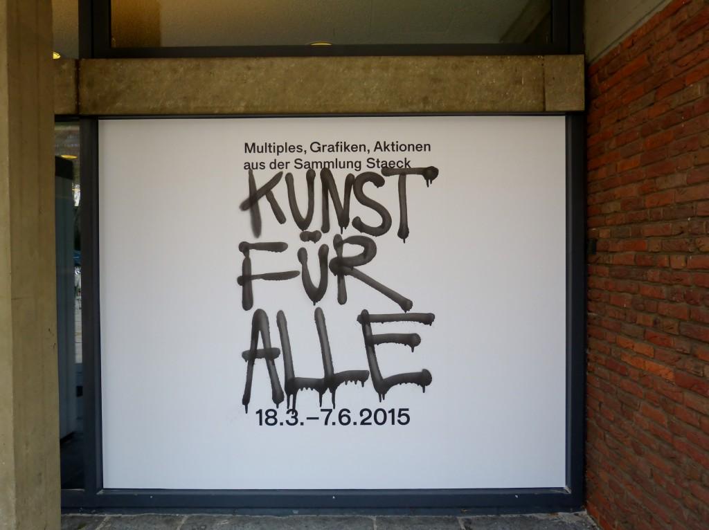 """""""Kunst für alle. Multiples, Grafiken, Aktionen aus der Sammlung Staeck"""". Foto © Urszula Usakowska-Wolff"""