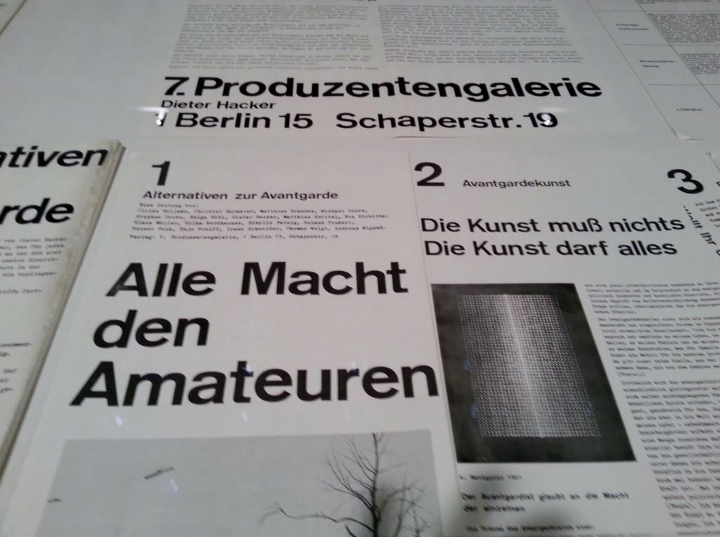 """""""Kunst für alle"""", Ausstellungsansicht, Foto © Urszula Usakowska-Wolff"""
