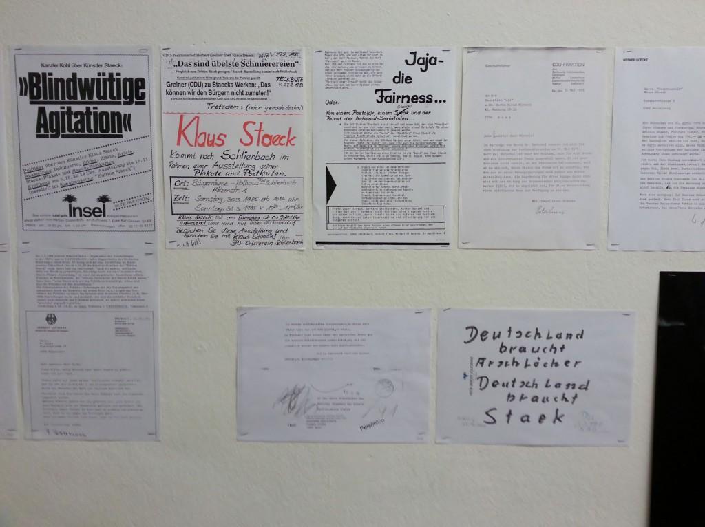 """""""Kunst für alle"""" - Nicht alle lieben Klaus Staeck. Foto © Urszula Usakowska-Wolff"""