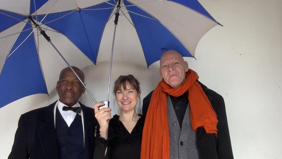 Lennox Raphael, Marie Dahl, Jesper Dalmose. Berlin Soup 2015. Foto © Urszula Usakowska-Wolff