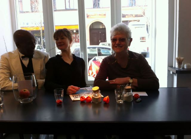 Lennox Raphael, Marie Dahl und Urszula Usakowska-Wolff. Foto © Jesper Dalmose