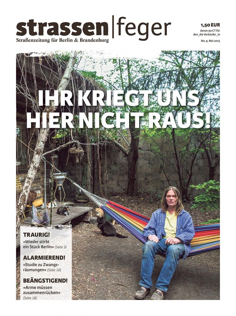 strassenfeger Cover 9-2015 Gentrifizierung