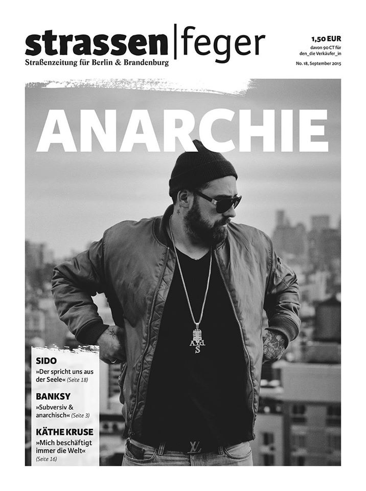 strassenfeger 18 Anarchie 2015