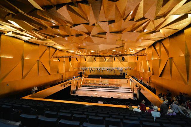 Philharmonie Szczecin, Konzertsaal. Foto: Wikipedia