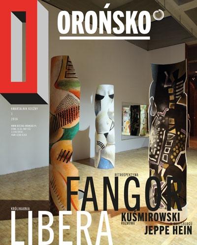 Cover Kwartalnik Oronsko Nr 1/2016