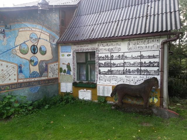 Das Haus von Józef Chełmowski in Brusy-Jaglie. Foto © Urszula Usakowska-Wolff