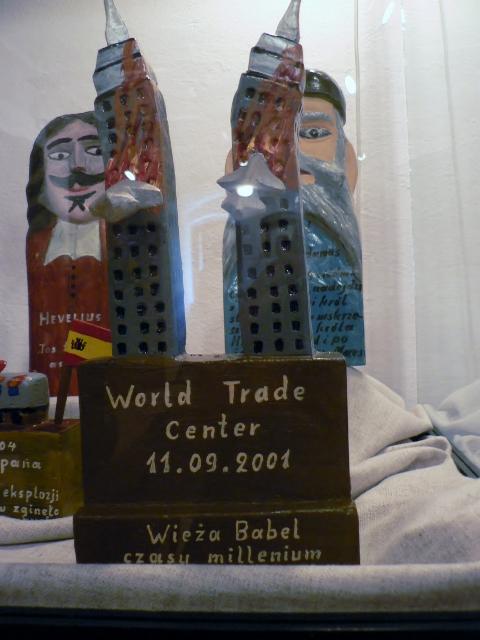 Józef Chełmowski, World Trade Center, 11.09.2001. Foto © Urszula Usakowska-Wolff