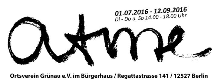 Mario Lischewsky atme , Bürgerhaus Gronau, 1.07. - 12.09.2016