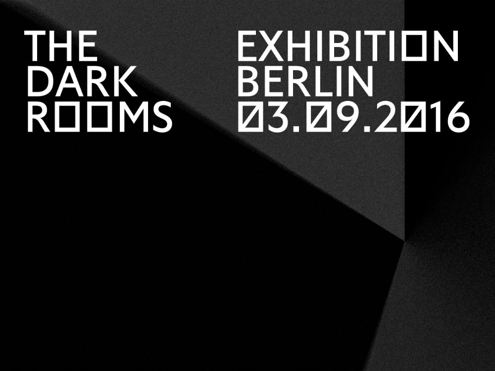 The Dark Rooms Exhibition Berlin. Foto © The Dark Rooms
