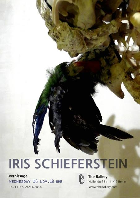 Iris Schieferstein, Vernissage, 16.11.2016, The Ballery Berlin