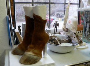 Iris Schieferstein, Horseshoes, 2008. Foto © Urszula Usakowska-Wolff