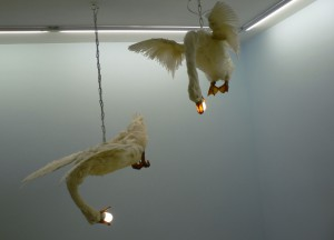 Iris Schieferstein, Leuchter, 2009. Foto © Urszula Usakowska-Wolff