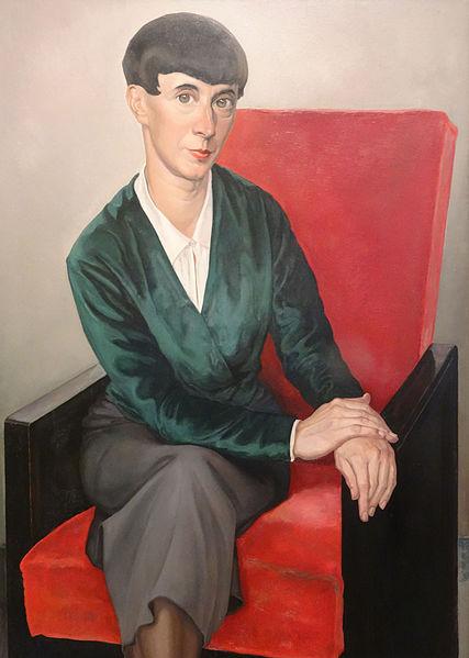 Chris Lebeau, Porträt von Hannah Höch, 1933. Foto: wikipedia.de