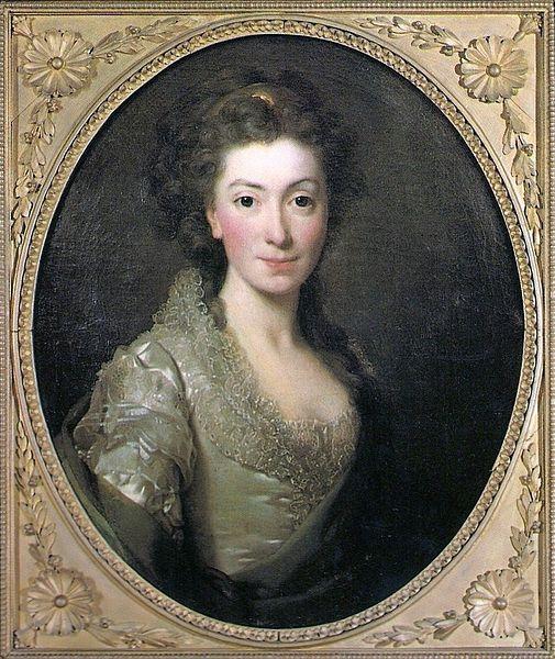 Alexander Roslin: Prinzessin Izabela Czartoryska, 1774, Czartoryski-Museum Krakau. Quelle: Wikipedia, public domain