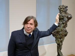 George Condo im Museum Berggruen, 18.11.2016. Foto © Urszula Usakowska-Wolff, VG Bild-Kunst Bonn, 2016