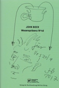 John Bock, Widmung für Urszula