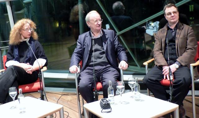Anna Polke, Klaus Staeck und Georg Polke, AdK, 23.02.2017. Foto © Urszula Usakowska-Wolff
