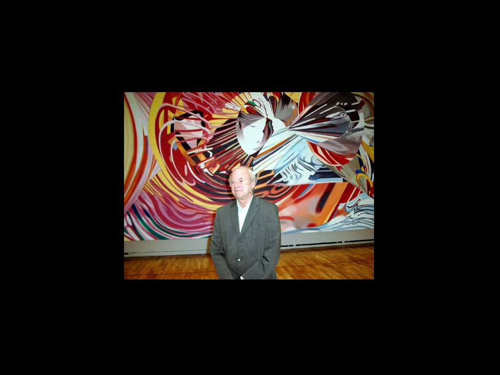 James Rosenquist, 2005, Foto U. Usakowska-Wolff