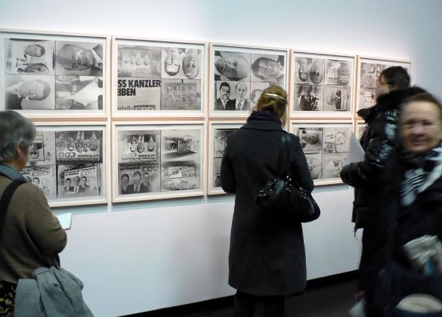 Sigmar Polke, Bizarre (1972) in der Akademie der Künste, 2011. Foto © Urszula Usakowska-Wolff