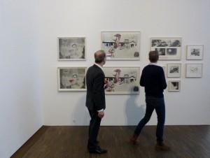 Ausstellungsansicht Sigmar Polke - Die Editionen. Foto Usakowska-Wolff