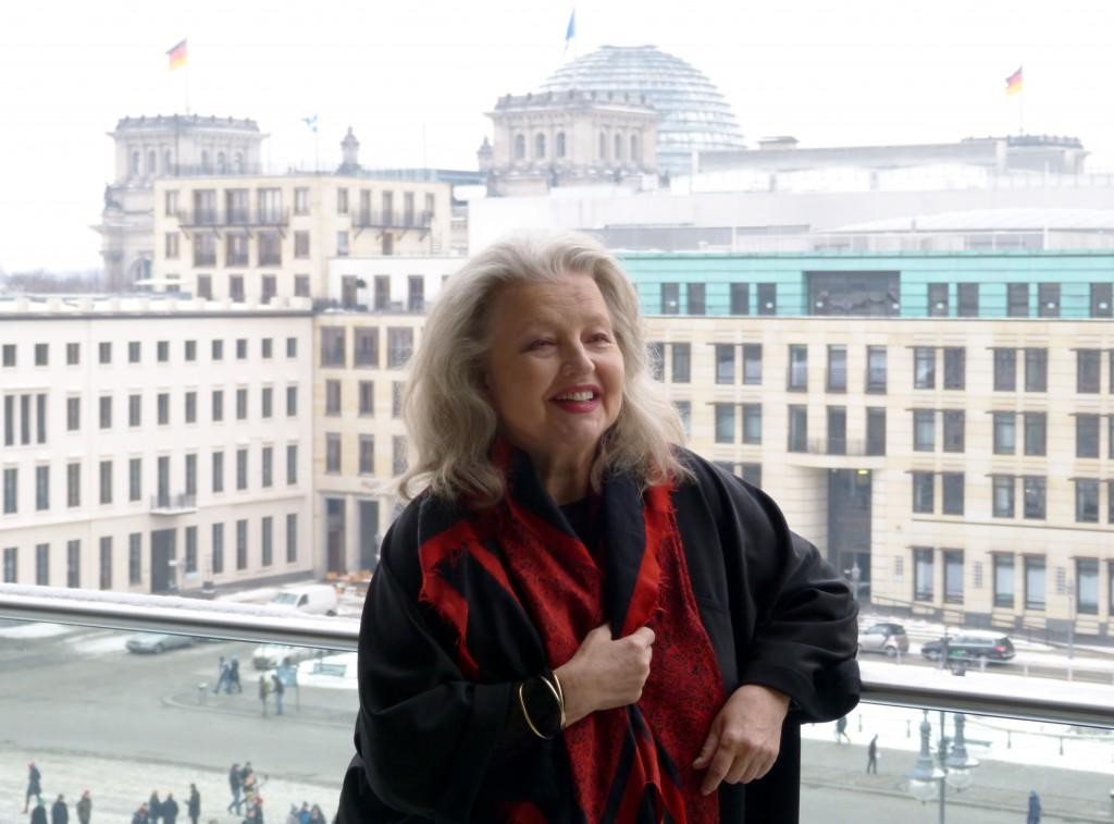 Hanna Schygulla, Akademie der Künste, 31.01.2014. Foto Urszula Usakowska-Wolff