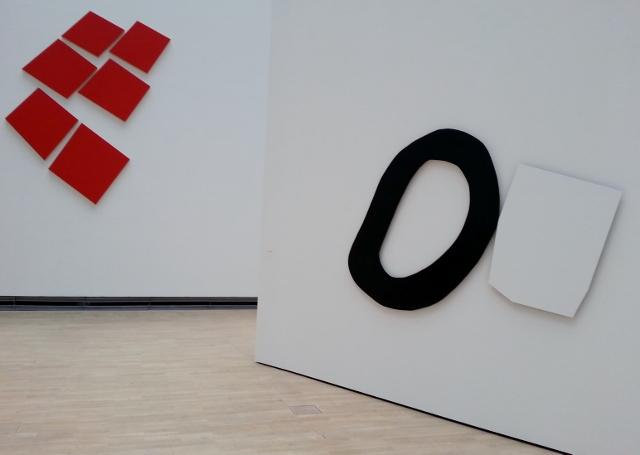 Imi Knoebel, Werke 1966-2014, Kunstmuseum Wolfsburg. Foto © Urszula Usakowska-Wolff