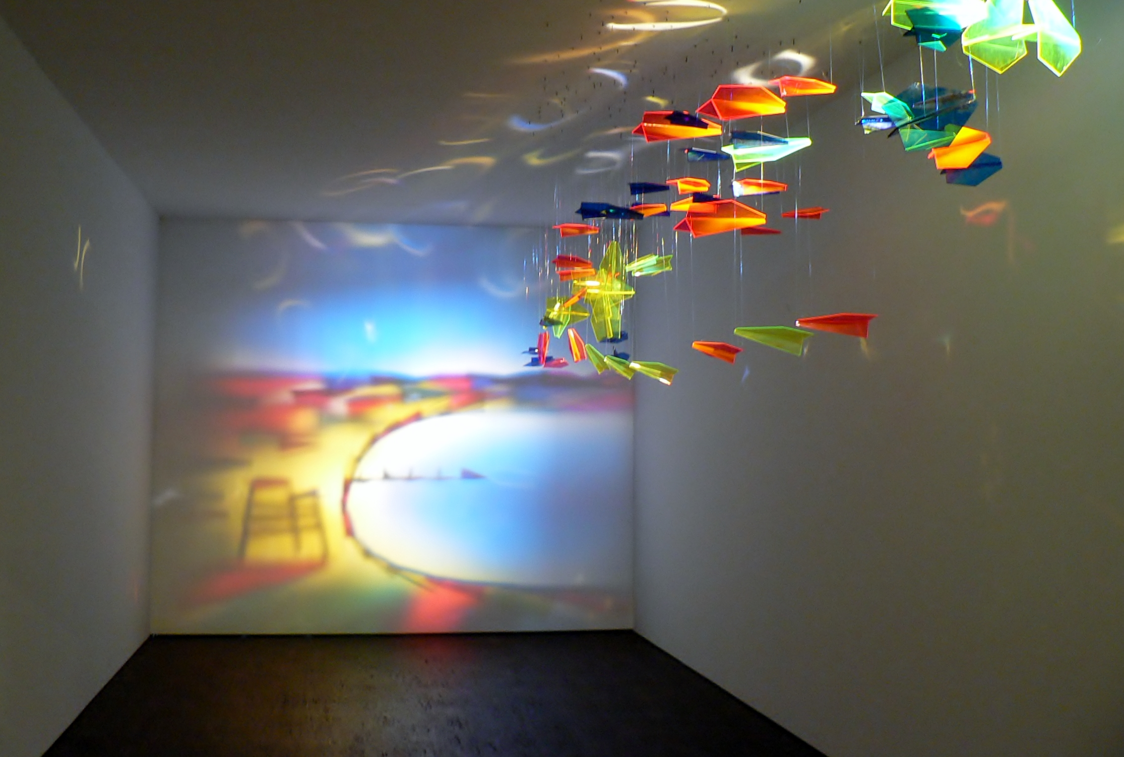 "Rashad Alakbarov, ""Fly to Baku"", me Collecors Room, 2012. Foto © Usakowska-Wolff"