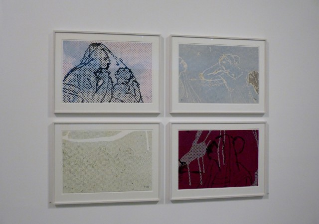 Sigmar Polke, Danneckers Hausgecko, 2009, me Collectors Room, 2017. Foto © Urszula Usakowska-Wolff