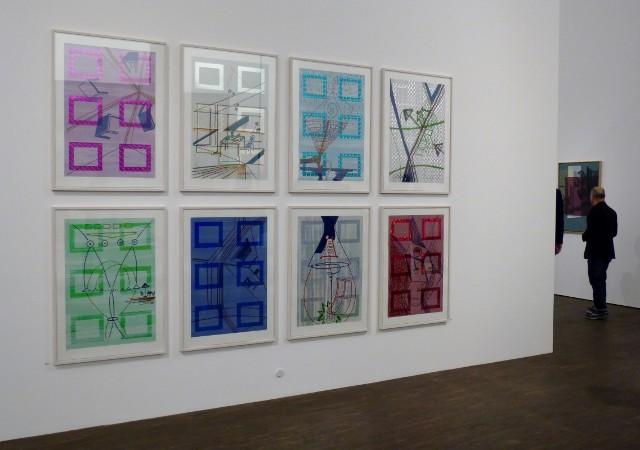 Sigmar Polke, Der Kuchen ist alle, 2006, me Collectors Room, 2017. Foto © Urszula Usakowska-Wolff