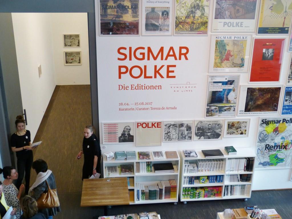 Sigmar Polke, Die Editionen, me Collectors Room Berlin. Foto © Urszula Usakowska-Wolff