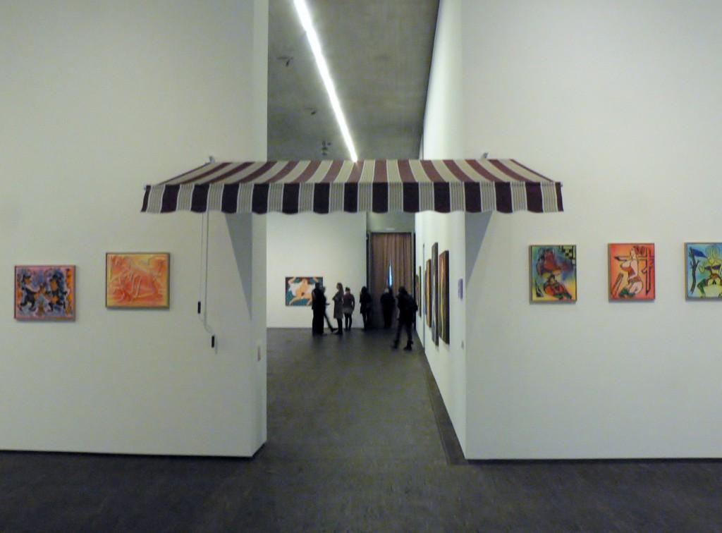 "Ausstellung ""William N. Copley und Andreas Slonimski, X-Rated"", me Collectors Room Berlin, 2011. Foto © Urszula Usakowska-Wolff"