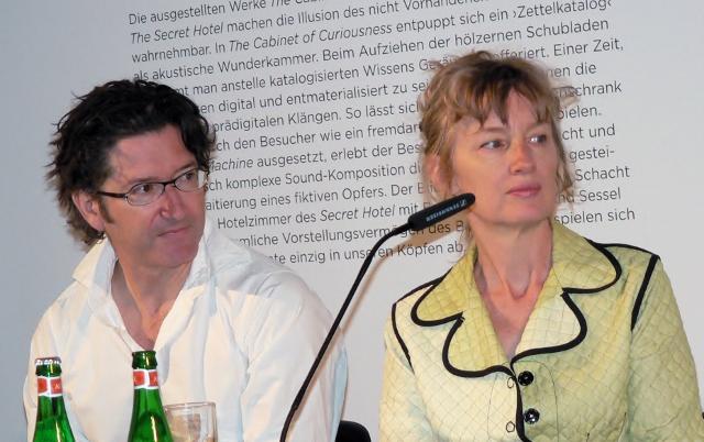 Georges Bures Miller und Janet Cardiff. Foto © Urszula Usakowska-Wolff