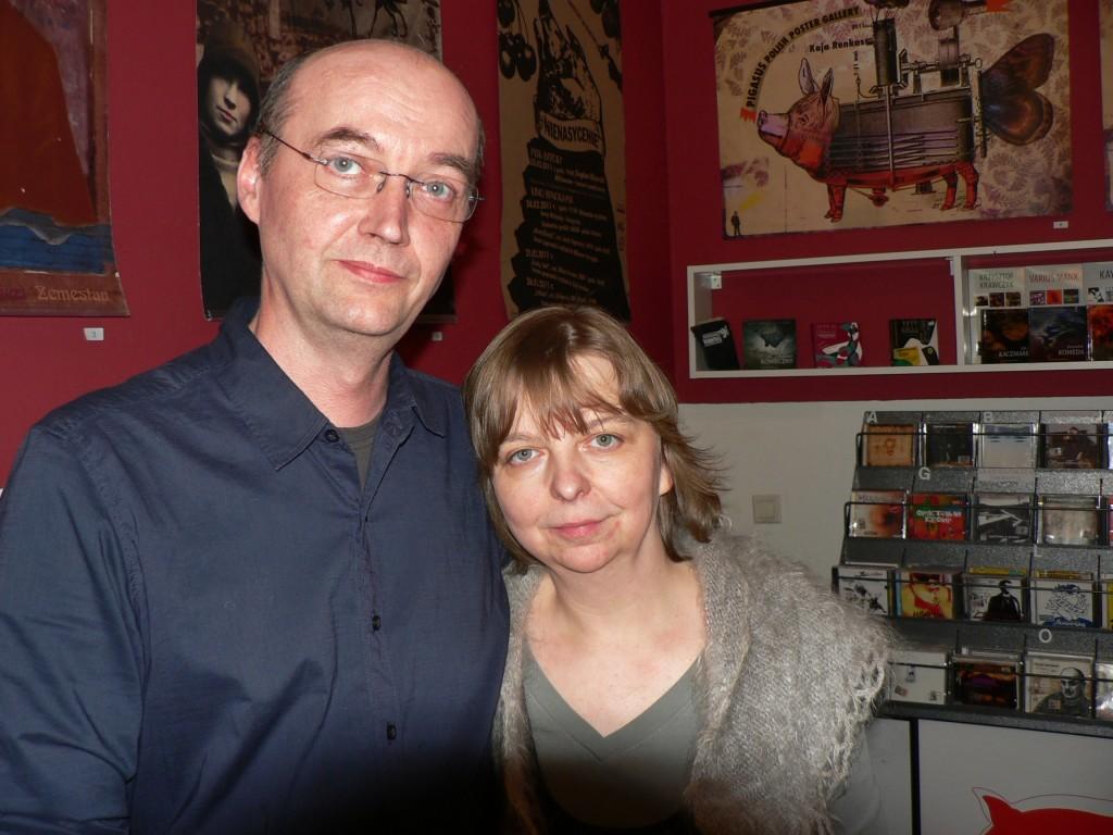 Mariusz und Joanna Bednarski, Inhaber der Pigasus - Polish Poster Gallery Berlin, 2011. Foto © Usakowska-Wolff