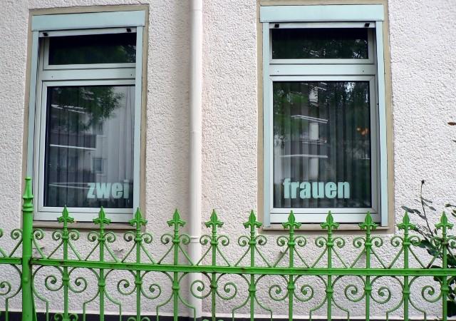 Hinter diesen Fenstern lebten einst zwei Frauen… Foto © Urszula Usakowska-Wolff