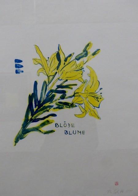 Thomas Schütte, Blöde Blume, 1995. Foto © Urszula Usakowska-Wolff