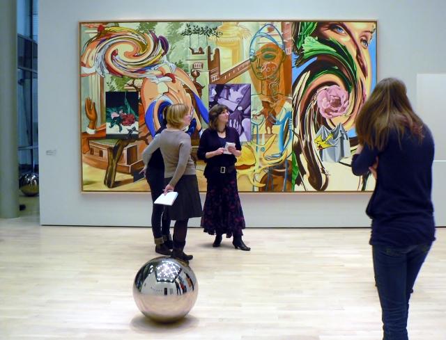 """Blick in die Ausstellung """"Entschleunigung"""". Foto © Urszula Usakowska-Wolff"""