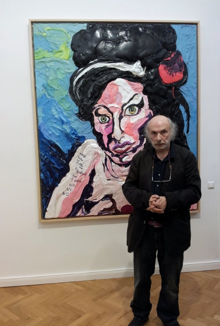 """Charles Szymkowicz vor """"Amy Winehouse"""". Foto © Urszula Usakowska-Wolff"""