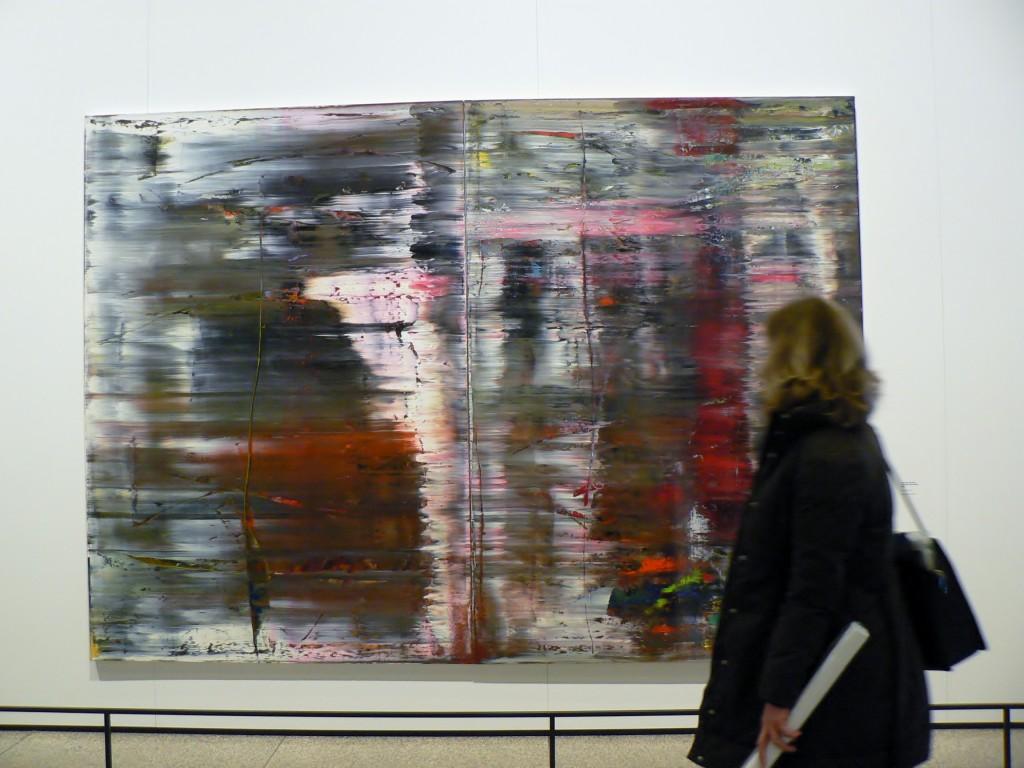 Gerhard Richter, Abstraktes Bild, 1977. Foto © Urszula Usakowska-Wolff