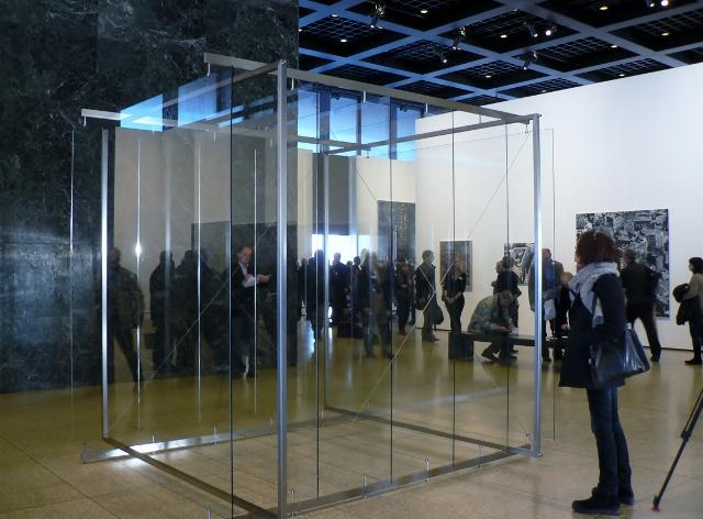 Gerhard Richter, Gestell mit sechs stehenden Scheiben, 2002/2012. Foto © Urszula Usakowska-Wolff