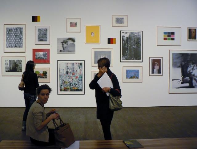Gerhard Richter, Panorama, Ausstellungsansicht, Neue Nationalgalerie Berlin, 2012. Foto © Urszula Usakowska-Wolff