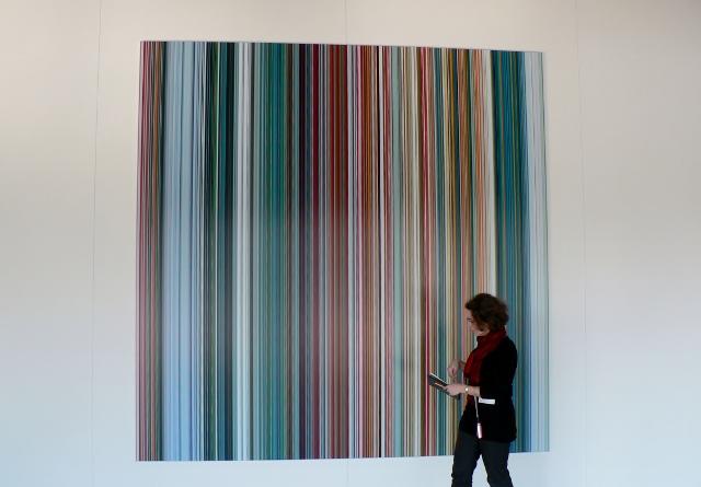 Gerhard Richter, Strip, C-Print, 2011. Foto © Urszula Usakowska-Wolff