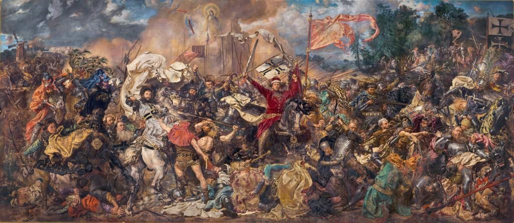 Jan Matejko, Bitwa pod Grunwaldem, 1878, Muzeum Narodowe w Warszawie. Quelle: Wikimedia Commons