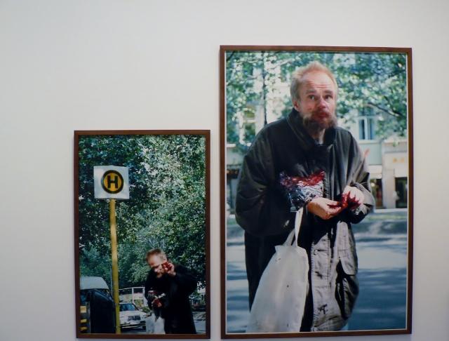 "Boris Mikhailov, aus der Serie ""In The Street"", 2001-2003. Foto © Urszula Usakowska-Wolff"