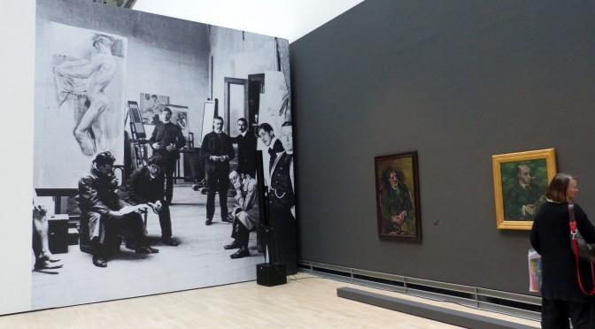 "Blick in die Ausstellung ""Oskar Kokoschka, Humanist und Rebell"", Kunstmuseum Wolfsburg, 2014. Foto © Urszula Usakowska-Wolff"