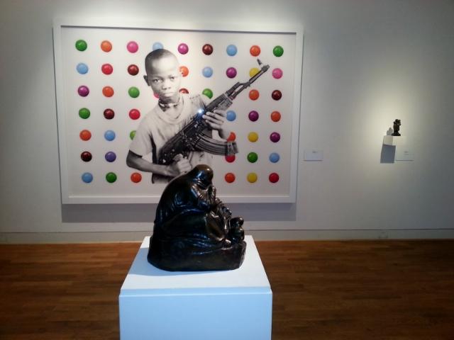 """Blick in die Ausstellung """"Mahnung und Verlockung"""" im Käthe-Kollwitz-Museum Berlin. Foto © Urszula Usakowska-Wolff"""