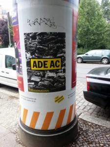 Klaus Staeck, Die Kunst findet nicht im Saale statt, Berlin, 2014. Foto © Urszula Usakowska-Wolff