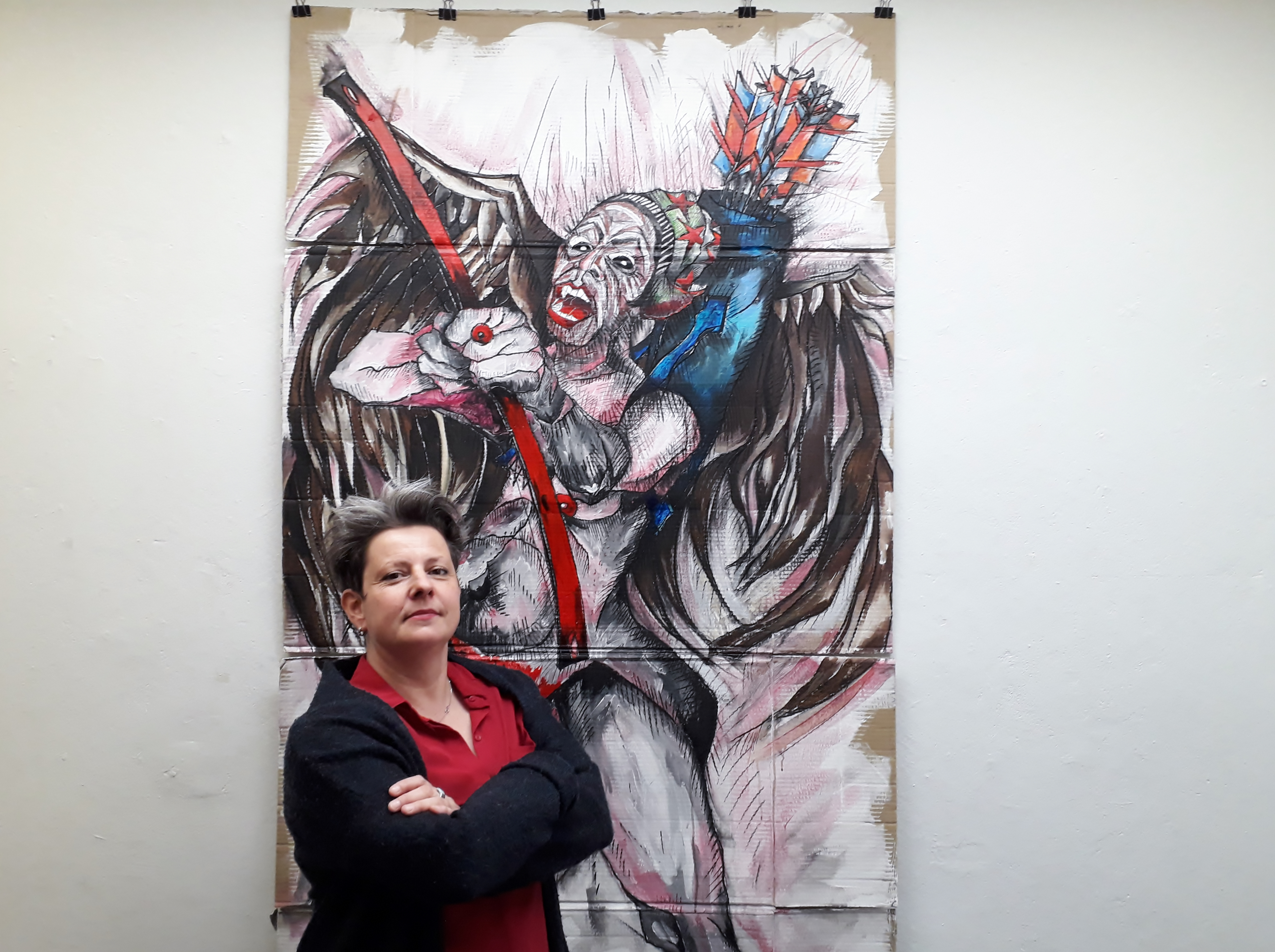 Liebesglühen und Liebesmühen in der Bilderserie »Verhängnis« von Nadja Schüller-Ost
