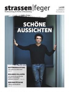 Titelblatt strassenfeger26/2013 mit Rolando Villazon